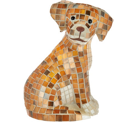 Illuminated Mosaic Animals by Valerie