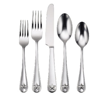 Oneida Tindra Mirror Finish 45-Piece Flatware Set - H283119