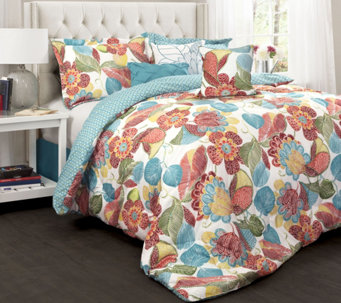 Layla 7-Piece King Comforter Set by Lush Decor - H288019