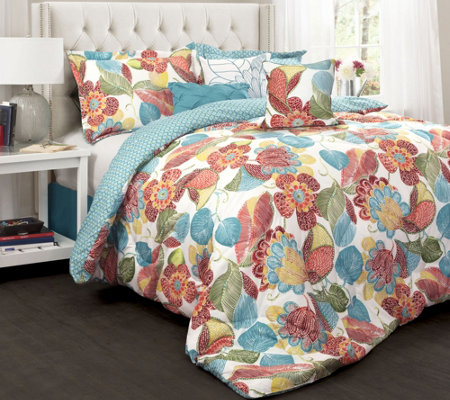Layla 7-Piece King Comforter Set by Lush Decor