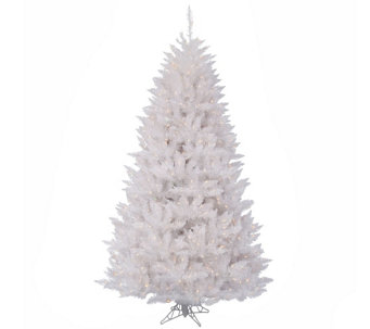 12' Sparkle White Spruce Tree with Clear Lightsby Vickerman - H289819