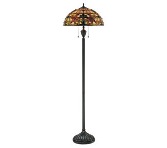 "Tiffany Style Kami Collection 62"" Floor Lamp - H359119"