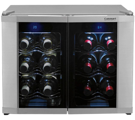 Cuisinart 12-Bottle Dual Zone Wine Cellar