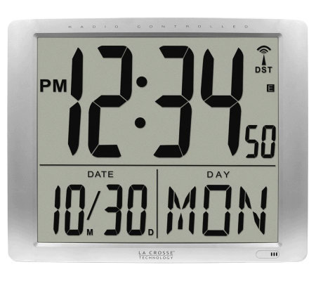 "La Crosse Technology 515-1316 Atomic Large 16""Wall Clock"