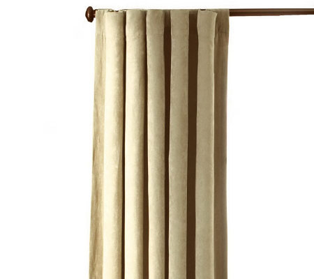 Sure Fit Soft Sueded Drapes - Set of 2