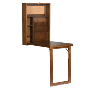 Home Reflections Murphy-Style Desk - Walnut Finish - H179820