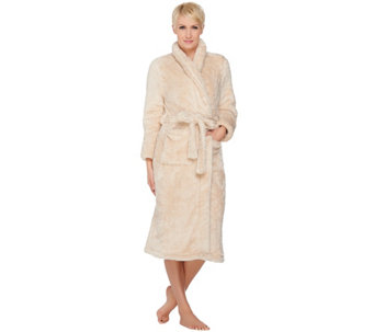 Fluffie Full Length Belted Wrap Robe By Berkshire Blanket - H210020
