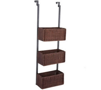 Delilah Over-the-Door 3-Tier Basket Storage - H281320