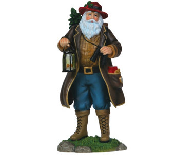 Camping Claus Santa Figurine by Pipka - H290020