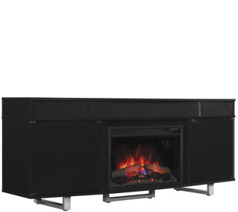Bell'O New Enterprise Infrared Electric Fireplace Media Heater - H290620
