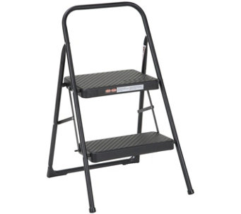 Cosco Two Step Household Folding Step Stool - H290820