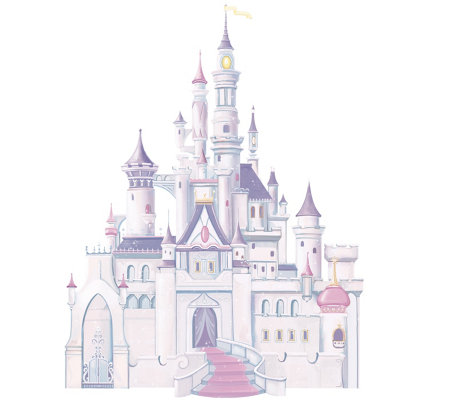 RoomMates Disney Princess Castle Peel & Stick Giant Wall Decal
