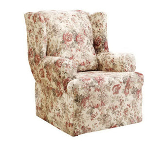 Sure Fit Chloe Wing Chair Slipcover - H156021
