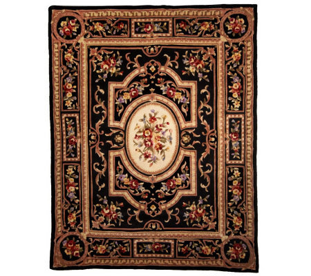Royal Palace Delicate Medallion 7'3 x 9'3""
