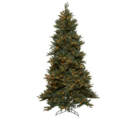 Bethlehem Lights 7.5' Frasier Fir Christmas Tree w/Instant Power