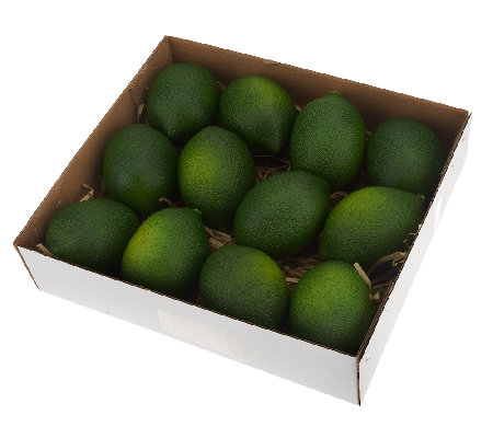 Set of 12 Decorative Limes by Valerie