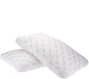 MyPillow (2) Premium Plus Std/Qn Pillows w/100% RingSpun Cotton & Gusset - H206021