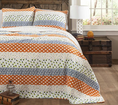Franny 3-Piece Full/Queen Quilt Set by Lush Decor