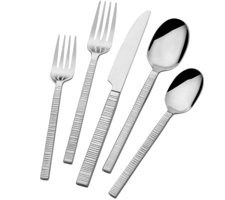 Towle Living Griffin Forged 42-Piece Flatware Set