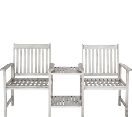 Safavieh Brea Twin Seat Bench