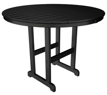 "POLYWOOD Traditional Round 48"" Counter Table"