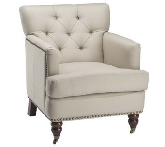 Linda Dano Tufted Club Chair with Cotton FabricSeating - H350721