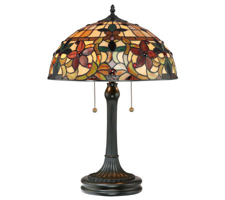 "Tiffany Style Kami Collection 23"" Table Lamp"
