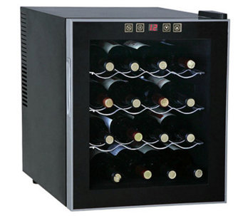 SPT 16-Bottle Thermo-Electric Wine Cooler - H366221