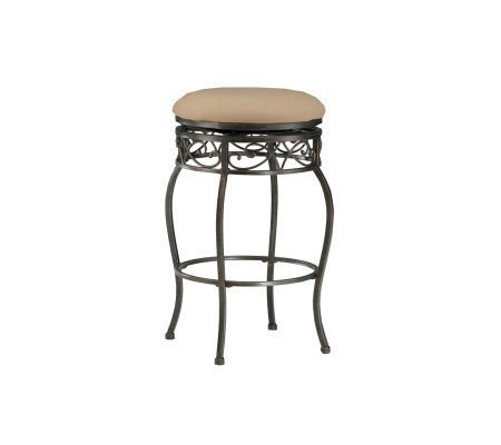 Hillsdale Furniture Lincoln Backless Swivel BarStool