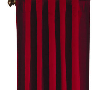 Sure Fit Cotton Duck Drapes - Set of 2 - H156322