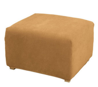 Sure Fit Stretch Pique Ottoman Slipcover - H171022