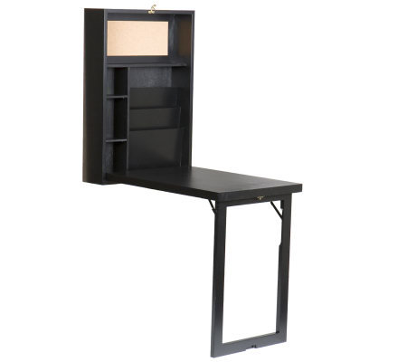 Home Reflections Murphy-Style Desk - Black Finish
