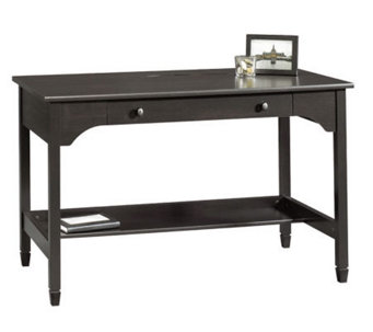 Sauder Edge Water Collection Writing Desk - Estate Black - H182622