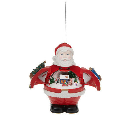 Mr. Christmas Deluxe Hidden Holidays AnimatedMusical Ornament