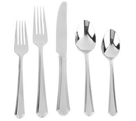 Lenox 18/10 Stainless Steel 65-Piece Service for 12 Flatware Set