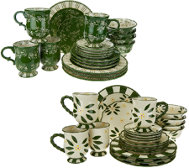 Temp-tations 20-piece Service for 4 Dinnerware Set