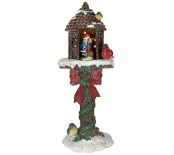 "Kringle Express 20"" Illuminated Holiday Glittered Treehouse - H208822"