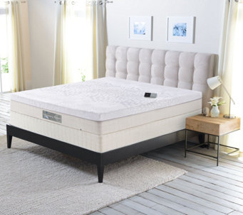 Sleep Number Memory Foam Queen Mattress with Modular Base - H209622