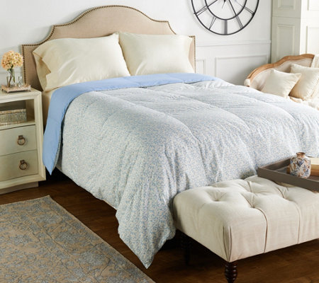Northern Nights Versailles 500TC 550FP Reversible QN Down Comforter