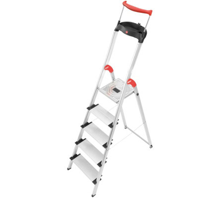 Hailo XXR 5-Step Aluminum Safety Ladder