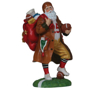 Touchdown Santa Figurine by Pipka - H290022