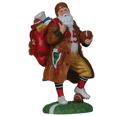 Touchdown Santa Figurine by Pipka