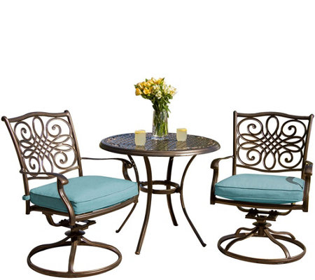 Cambridge Seasons 3-Piece Bistro Set