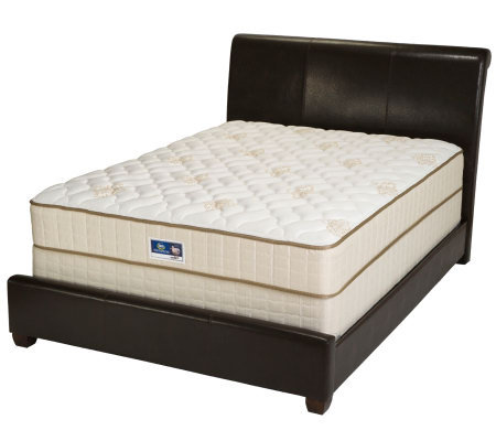 Serta Remedy Firm Queen Mattress Set Page 1 — QVC