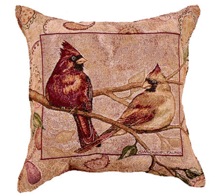Cardinal Companion Pillow