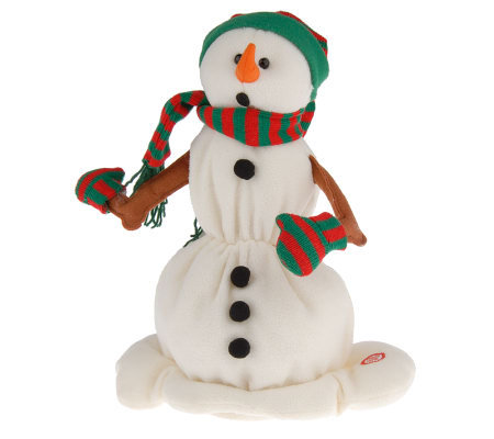 "14"" Animated Singing and Dancing Melting Snowman"