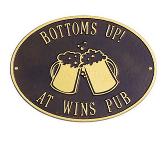 Personalized Beer Mugs Plaque - H139323