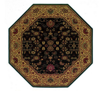 "Couristan 3'11"" Everest ""Tabriz"" Octagonal Rug - H160323"