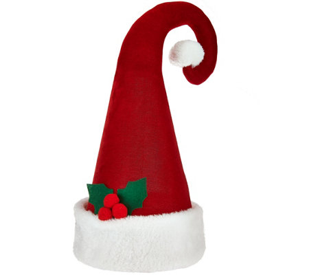 Choice of Holiday Hat Tree Topper by Valerie