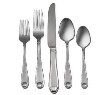 Oneida Satin Garnet 18/10 Stainless Steel 65-PcFlatware Set - H283123